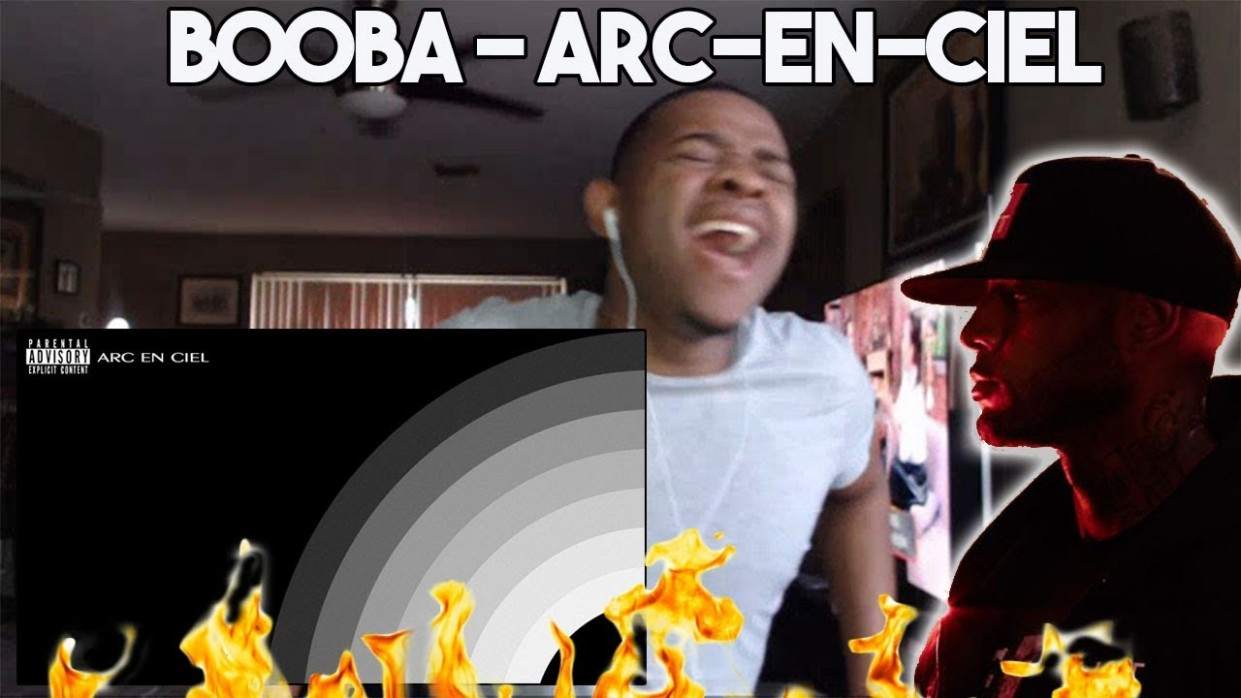Booba - Arc-en-ciel (Audio) | FRENCH RAP REACTION |