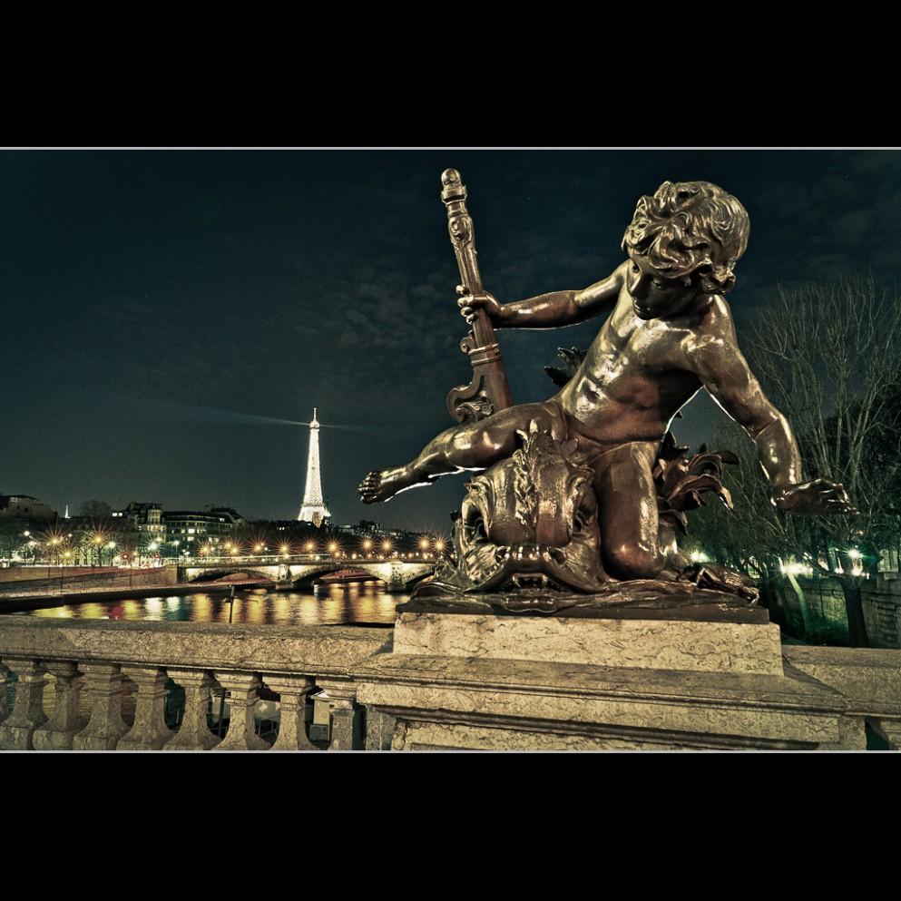 Pont Alexandre III - arc en ciel 6 couleurs